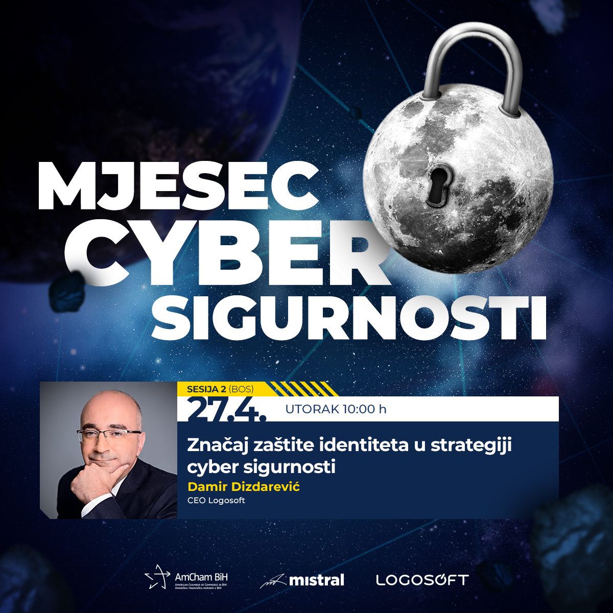 """Second session - """"April - Cyber Security month"""""""