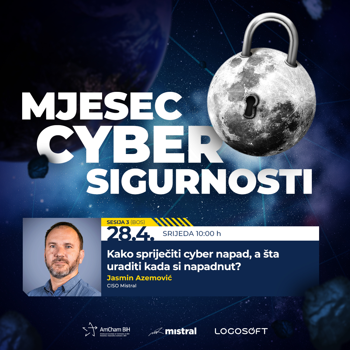 """Third session - """"April - Cyber Security month"""""""