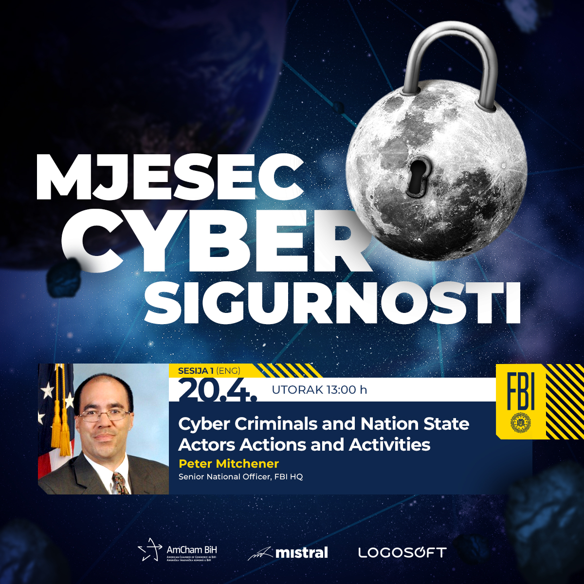 """First session - """"April - Cyber Security month"""""""