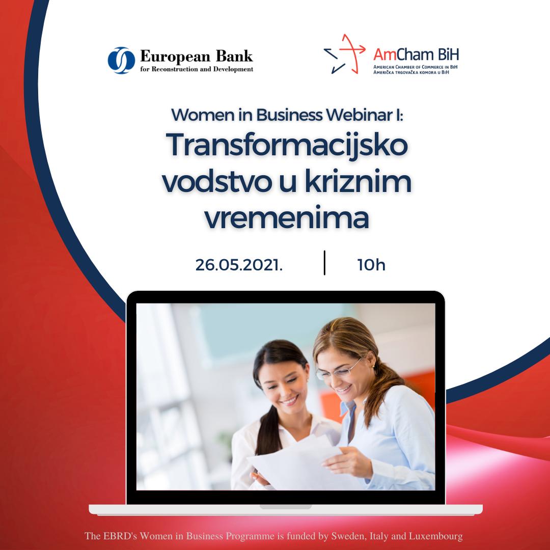 AmCham & EBRD - Women in Business - Webinar I