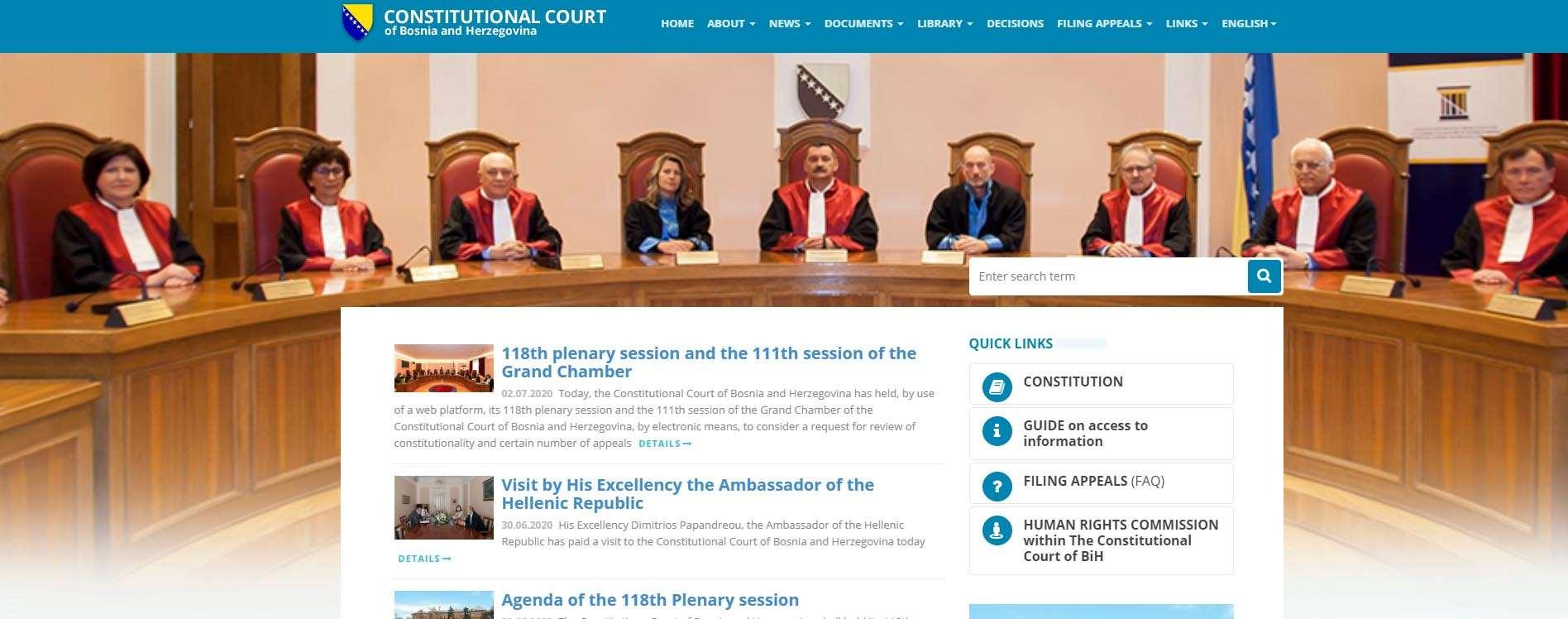 Constitutional Court of BiH
